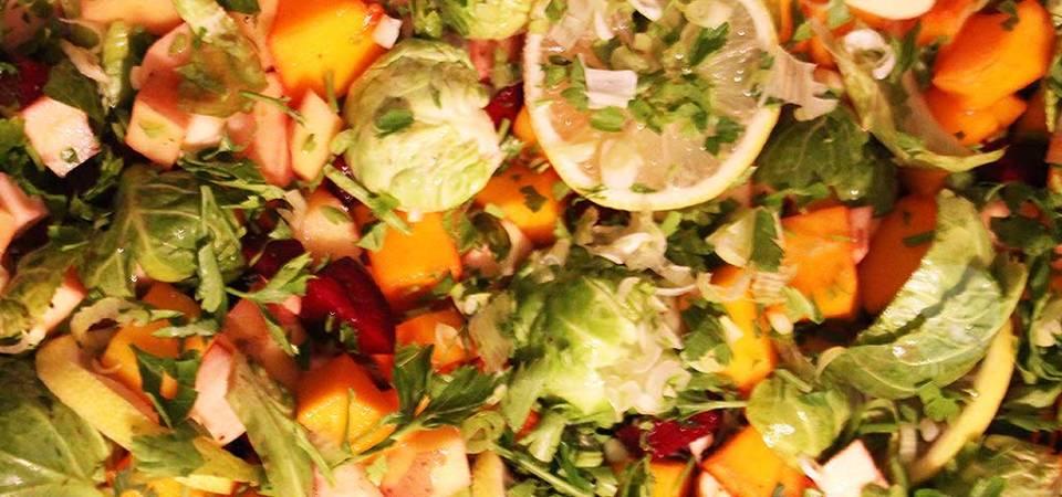 lemon and herb roasted vegetables