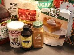 gluten free vegan pumpkin muffin