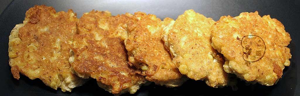 recipe: gluten free eggless corn fritters